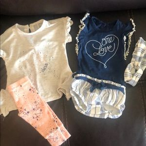 Jessica Simpson baby 2 outfits
